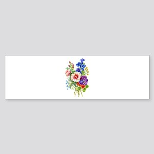 Summer Bouquet Sticker (Bumper)