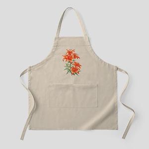 Orange Daylilies Apron