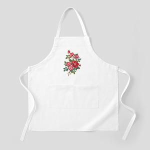 Romantic Red Roses Apron