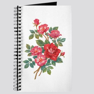 Romantic Red Roses Journal