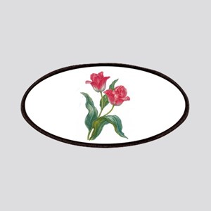 Red Tulips Patch
