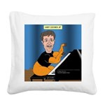 Hairy Coonick Jr Square Canvas Pillow