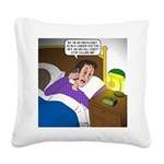 Oncologist Square Canvas Pillow