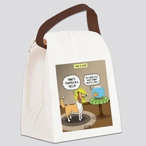 Timmys Fish Canvas Lunch Bag
