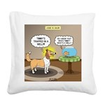 Timmys Fish Square Canvas Pillow