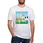 Bessie v Lassie Fitted T-Shirt