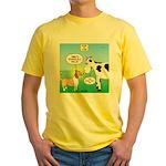Bessie v Lassie Yellow T-Shirt
