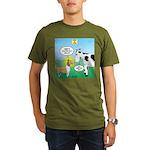 Bessie v Lassie Organic Men's T-Shirt (dark)