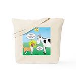 Bessie v Lassie Tote Bag