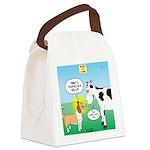 Bessie v Lassie Canvas Lunch Bag