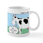Bessie v Lassie Mug