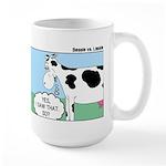 Bessie v Lassie Large Mug
