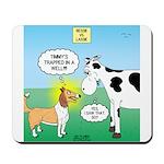Bessie v Lassie Mousepad