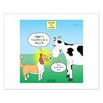Bessie v Lassie Small Poster