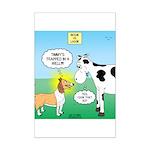 Bessie v Lassie Mini Poster Print