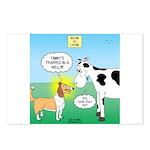 Bessie v Lassie Postcards (Package of 8)