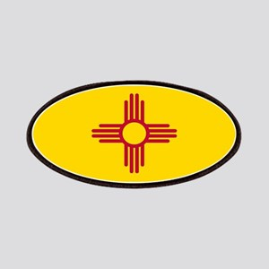 New Mexico Flag Yellow Patch