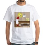 Timmys Cow Pie White T-Shirt