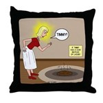 Timmys Cow Pie Throw Pillow