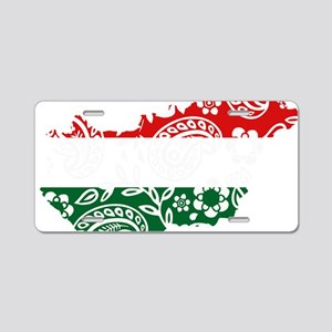 Paisley Hungary Aluminum License Plate