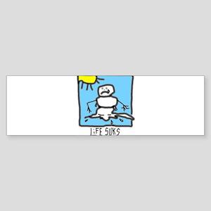 snowman1 Bumper Sticker