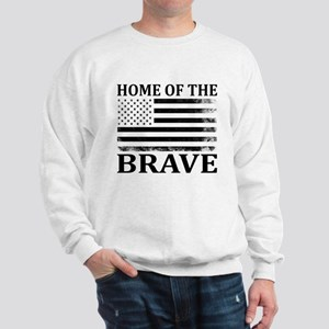 Home Of The Brave Sweatshirt