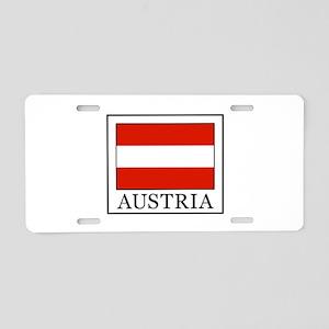 Austria Aluminum License Plate