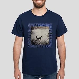 KITTY'S FIRST SNOW Dark T-Shirt