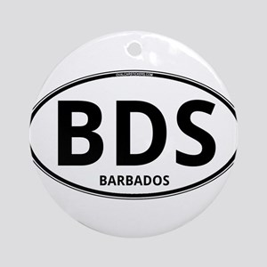 BDS - Barbados Ornament (Round)