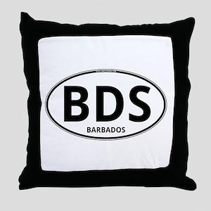 BDS - Barbados Throw Pillow