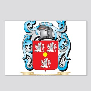 Bennett Coat of Arms - Fa Postcards (Package of 8)