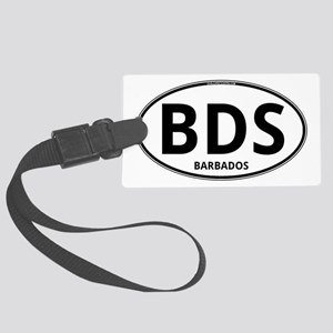 BDS - Barbados Large Luggage Tag