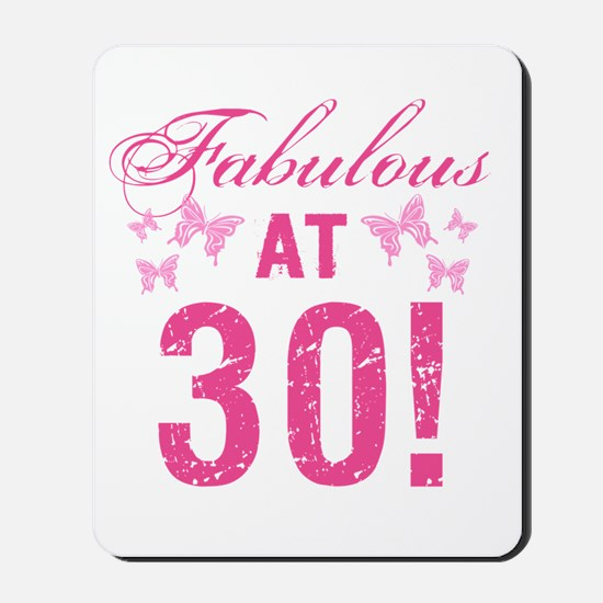 Fabulous 30th Birthday Mousepad