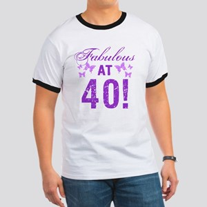 Fabulous 40th Birthday Ringer T