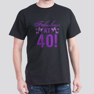 Fabulous 40th Birthday Dark T-Shirt