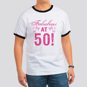 Fabulous 50th Birthday Ringer T