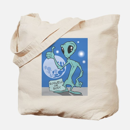 Roswell or Bust Tote Bag