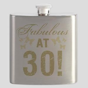Fabulous 30th Birthday Flask