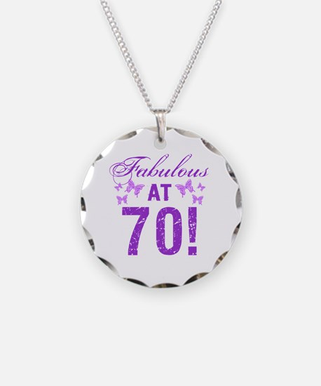Fabulous 70th Birthday Necklace