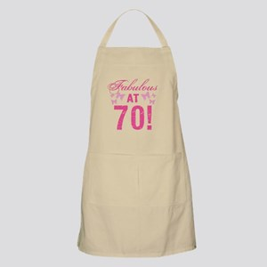 Fabulous 70th Birthday Apron