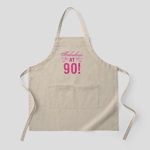 Fabulous 90th Birthday Apron