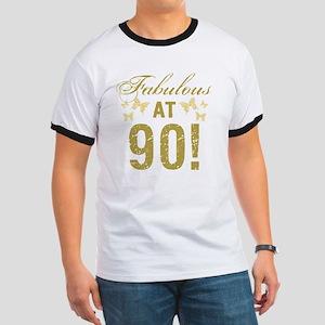 Fabulous 90th Birthday Ringer T