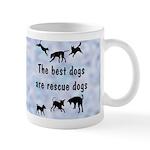 I Love Rescue Mutts (2) Mug