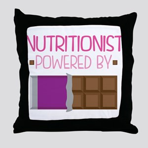 Nutritionist Throw Pillow