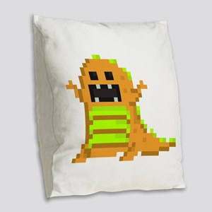 8bittrex-O Burlap Throw Pillow