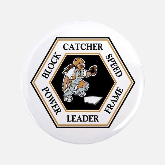 CATCHER HEXAGON Button