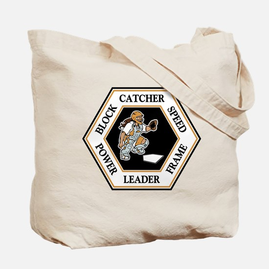 CATCHER HEX (both sides) Tote Bag