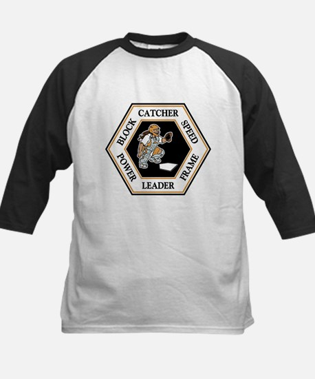 CATCHER HEXAGON Kids Baseball Jersey