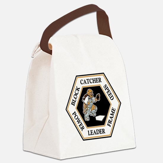 CATCHER HEXAGON Canvas Lunch Bag