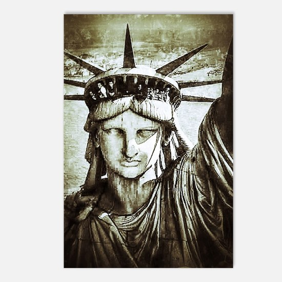 LibertyLady Postcards (Package of 8)
